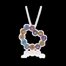Колье Pasquale Bruni подвеска на цепи Flower jewelry