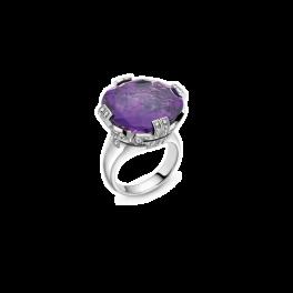 Кольцо с бриллиантом Bvlgari  Parentesi AN854932