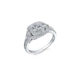 Кольцо с бриллиантом RalfDiamonds  с бриллиантами 1,19 ct G-I/I1-I2