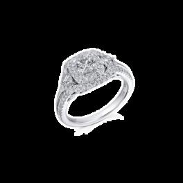 Кольцо с бриллиантом RalfDiamonds  с бриллиантами 1,24ct