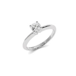 Кольцо с бриллиантом RalfDiamonds  0,55 ct F/SI1