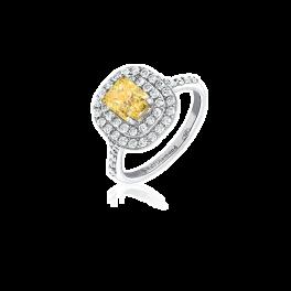Кольцо с бриллиантом RalfDiamonds  1,50ct FIY/I1