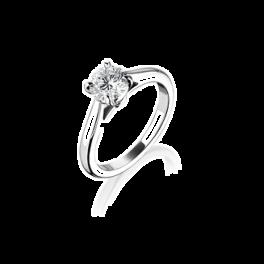 Кольцо с бриллиантом No name  1,0 ct K/I1