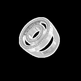 Кольцо с бриллиантом Chopard  Happy Spirit Classic 82/6244/0-20