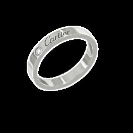 Кольцо с бриллиантом Cartier  de
