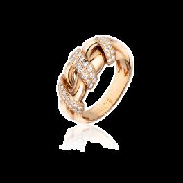 Кольцо с бриллиантом CHAUMET  с бриллиантами