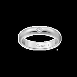Кольцо с бриллиантом Cartier  1895