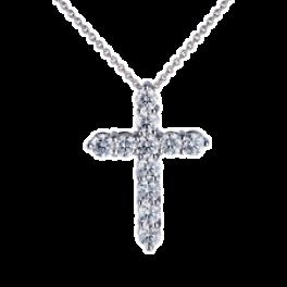 Крест RalfDiamonds Подвеска- 1,67ct