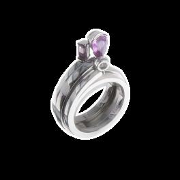 Кольцо с бриллиантом CHAUMET