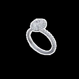 Кольцо с бриллиантом RalfDiamonds  1,01ct E/VVS1