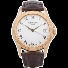 Часы Patek Philippe Calatrava Rose Gold 5117R-001