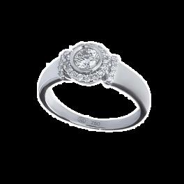 Кольцо RalfDiamonds  с бриллиантом 0,30ct H/I1
