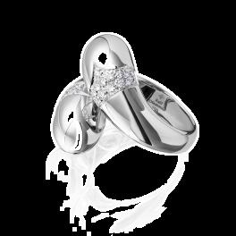 Кольцо с бриллиантом RalfDiamonds  с бриллиантами