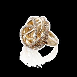 Кольцо с бриллиантом de Grisogono Matassa Ring