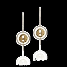 Серьги MESSIKA Lucky Move Earrings 7516