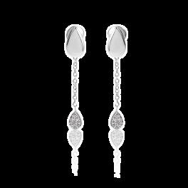 Серьги Piaget  с бриллиантами