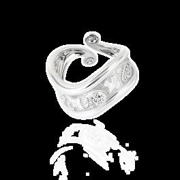 Кольцо Carrera y Carrera Aqua White Gold Ring