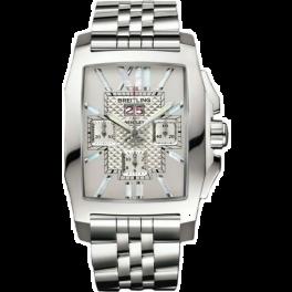 Часы Breitling Bentley Flying B Stainless Steel Chronograph Automatic A44365