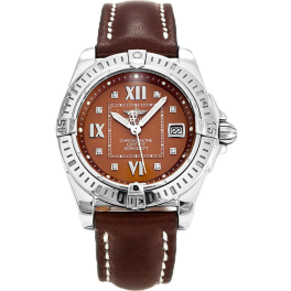 Часы Breitling Windrider Cockpit Bronze Diamond Dial Ladies Watch A71356