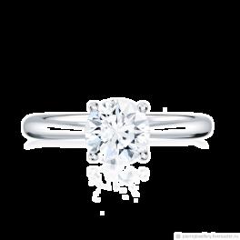 Кольцо с бриллиантом No name  1,45ct J/VS2