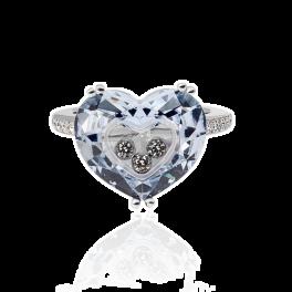 Кольцо с бриллиантом Chopard So Happy