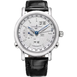 Часы Ulysse Nardin Classical GMT Perpetual Platinum Limited Edition of 500 329-80