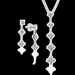 Комплект Carl F. Bucherer  с бриллиантами