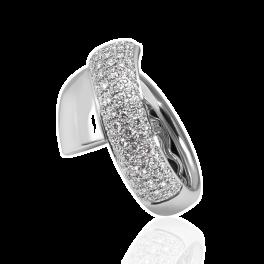 Кольцо с бриллиантом Carl F. Bucherer  с бриллиантами