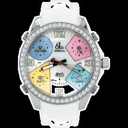 Часы Jacob & Co Five Time Zone Diamond Five Time Zone