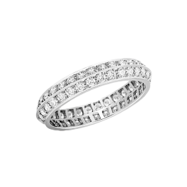 Кольцо с бриллиантом Van Cleef & Arpels Обручальное Couture VCARN57P00