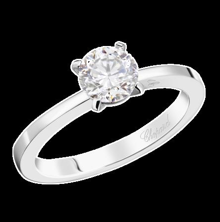 Кольцо с бриллиантом 0,5ct F/VS1